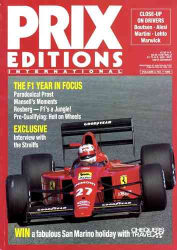 Prix Editions. Vol. 3, No. 7. June 1989.