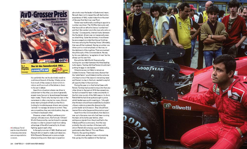 27 Patrick Tambay The Ferrari Years Www Imd Motorsport De